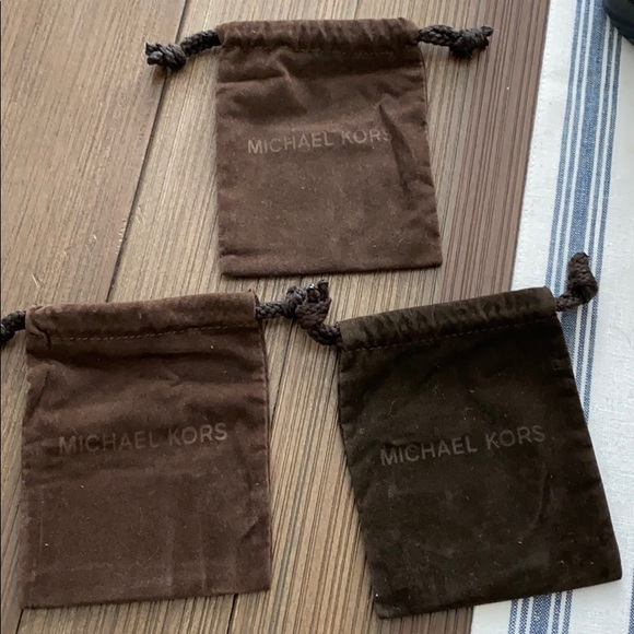 3 - Michael Kors jewelry pouches